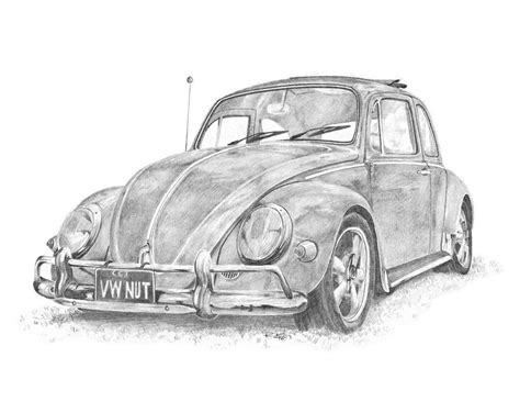 old volkswagen drawing classic vw pencil drawings thatdesigner thatdesigner