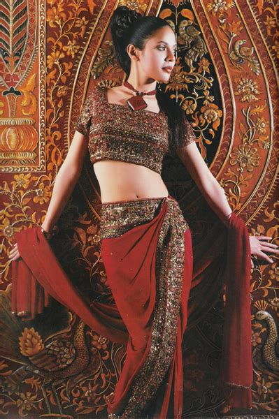 Pattern Draping North India Sarees Text On Textiles