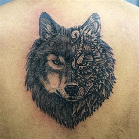 unique wolf tattoo venice tattoo art designs