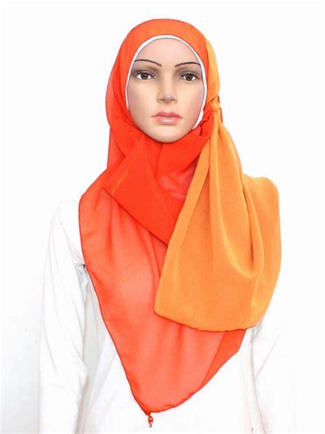tutorial hijab pashmina bolak balik hijab cantik muslimah pashmina chiffon bolak balik