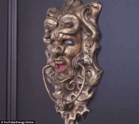 big swinging knockers energy online s door knocker comes to life to frighten
