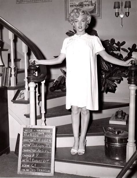 marilyn monroe dob marilyn in a costume test for the seven year itch 1955