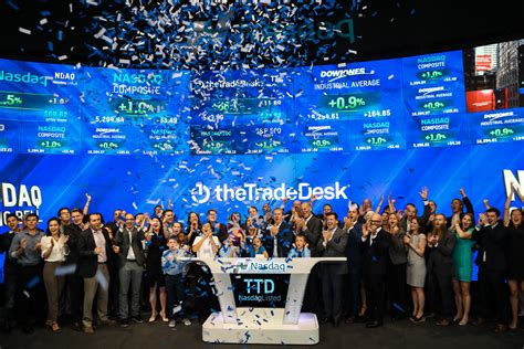 the trade desk ipo a market for ipos shows itself at least for a week