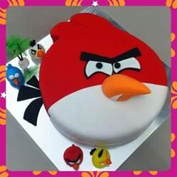 angry bird cake cakecentral com