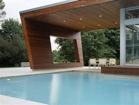 swimming pool house beautiful pool house in connecticut by hariri hariri