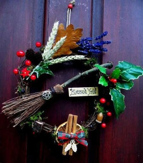 pagan christmas decorations yule decor pagan