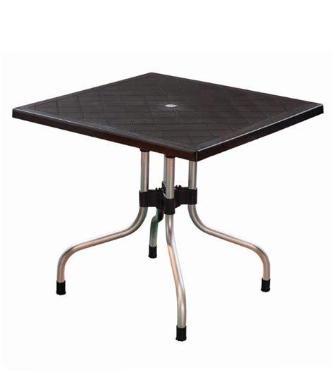 Supreme Olive Table Black Buy Online At Best Price In Supreme Dining Table