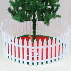 christmas tree decorative plastic pvc fence pet barrier
