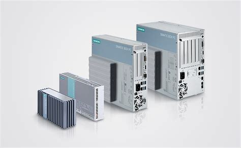 simatic box pc pc based automation siemens
