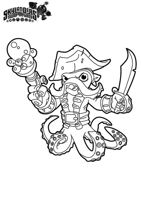 skylander birthday coloring page 8 best skylanders coloring pages images on pinterest