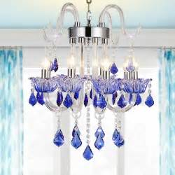 aliexpress buy lovely blue chandelier