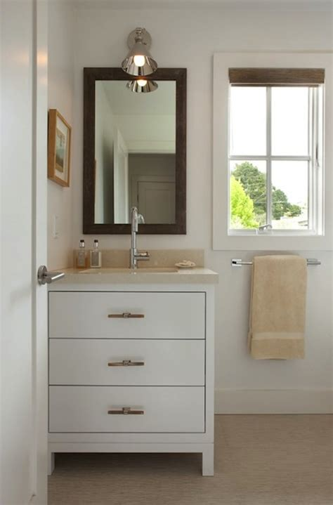 small bathroom mirrors cabinet doherty house chic chic small bathroom design with modern white washstand