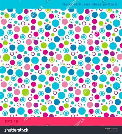 geometric background circles seamless pattern vector stock seamless geometric pattern circles simple background stock