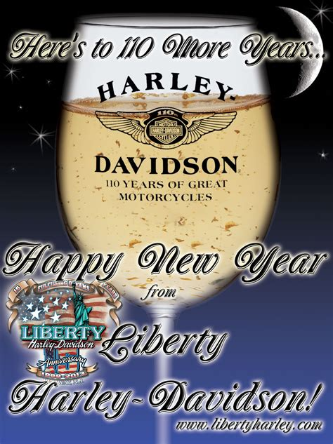harley davidson happy new year images happy new year everyone from liberty harley davidson