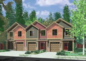 Duplex Row House Floor Plans Bruinier Com House Plans Duplex Plans Row Home