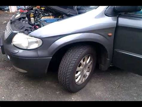 ruido en el motor chrysler voyager 2 5 crd del 2003 free workshop manuals youtube