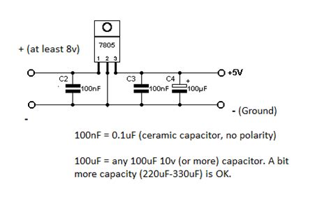 7805 large output capacitor 78xx capacitors why page 1
