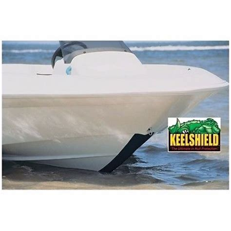 jon boat keel protection keelshield keel guard white 6 long protect from scratches