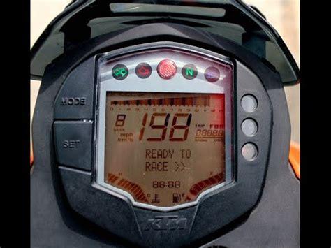 Ktm Clock How To Set Digital Clock On Ktm Duke 125 200 390 690