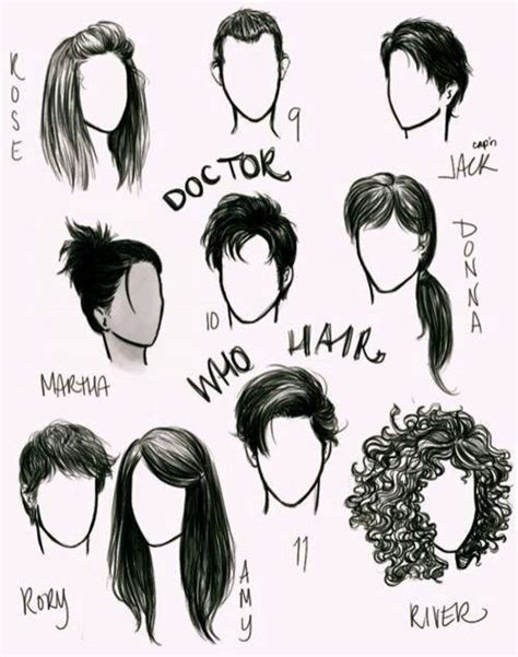 doctor who hairstyles doctor who character hairstyles doctor who pinterest
