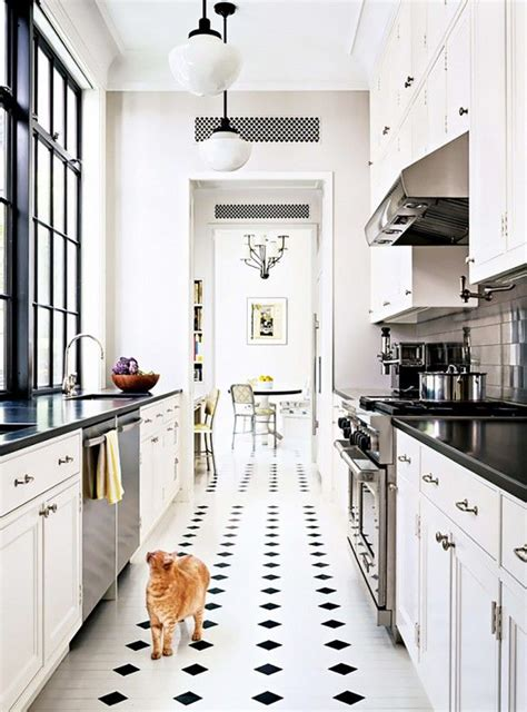 White Galley Kitchen Designs Best 25 White Galley Kitchens Ideas On Pinterest