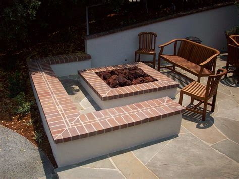 Square Firepit Square Brick Pit Pit Design Ideas