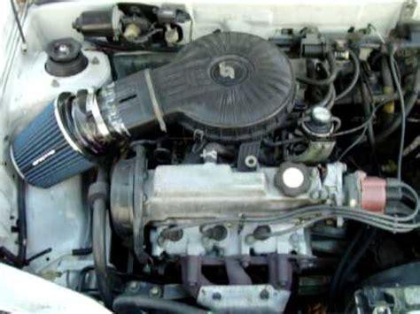how cars engines work 1992 suzuki swift head up display 1994 geo metro 3 cilinder suzuki motor running youtube