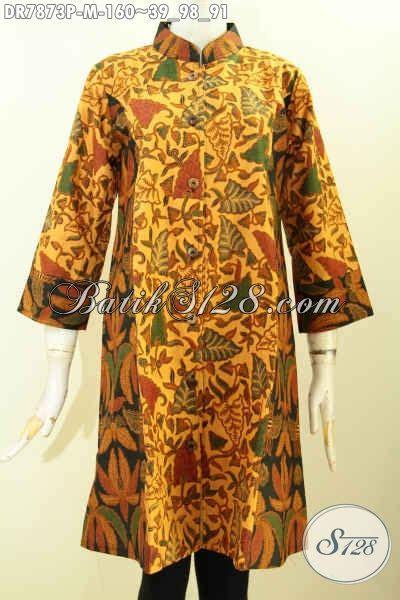 Busana Batik Kerja 2 baju batik kerja wanita muda busana batik elegan