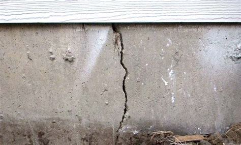 cracked foundation  elkhart  basement waterproofing