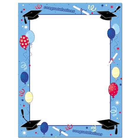 imagenes infantiles graduacion recursos para la graduaci 243 n bordes para posters y documentos