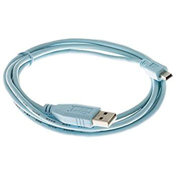 cisco console cisco cab console usb console cable 6 ft with