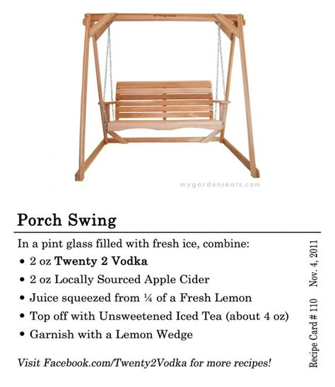 porch swing cocktail 1000 images about the 3 00 cocktail collection on