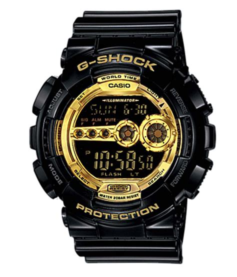S Shock Black by Casio G Shock Black Gold Series Gd 100gb 1dr G340
