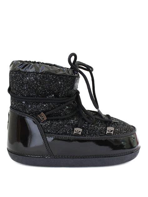 chiara ferragni glitter boots chiara ferragni glitter low top moon boots snow boots