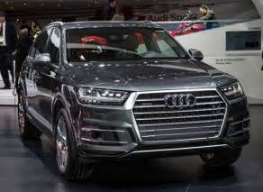 all new audi q7 suv sheds weight without
