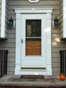 Front Door Moldings Decorative Front Door Surround Fluted Molding In Randolph Nj Morris County