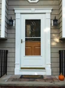 Exterior Front Door Trim Molding Decorative Front Door Surround Fluted Molding In Randolph Nj Morris County