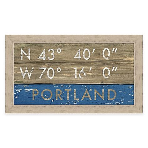 bed bath and beyond portland maine portland maine coordinates framed wall art bed bath beyond