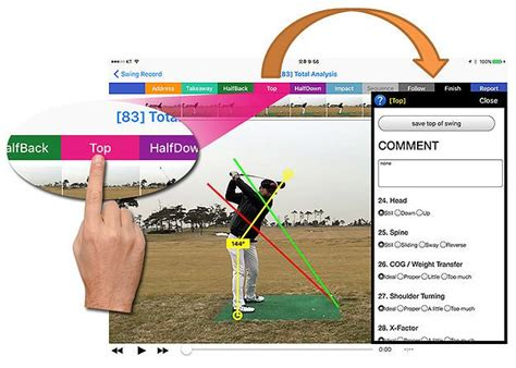 online swing analysis golf swing analysis online hale 28 images iswing ゴルフ