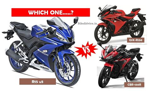 cbr r150 new r15 vs cbr150r vs gsx r150 which one sells the most
