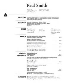 Cv Resume Exle by Cv Curriculum Vitae Resumes Learning