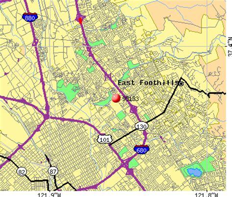 san jose income map 95133 zip code san jose california profile homes