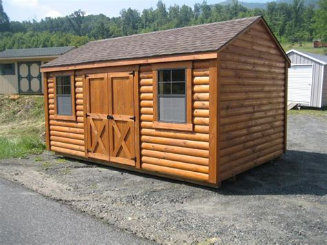 Log Cabin Storage Shed by Nyi Imas Log Storage Sheds