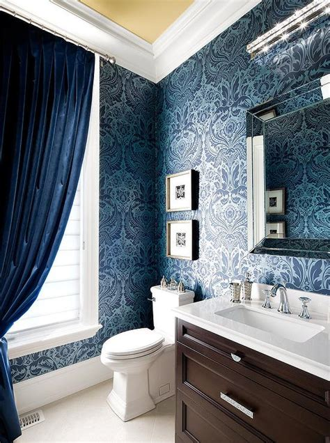 Blue And Brown Bathroom Ideas Blue And Brown Bathroom Design Ideas