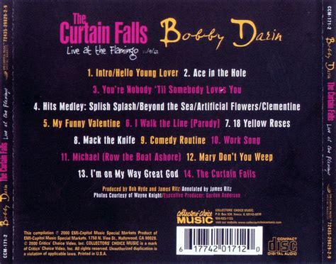 bobby darin the curtain falls car 225 tula trasera de bobby darin the curtain falls live