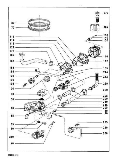 miele parts diagram dishwashers miele dishwasher parts