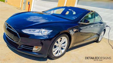 Tesla Clear Bra Tesla Model S With A Xpel Clear Bra Wrap