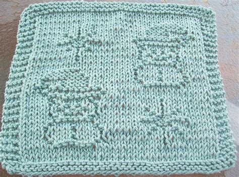 snowflake pattern to knit digknitty designs snowmen and snowflakes knit dishcloth