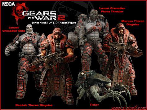 Neca Gears Of Wars 2 Locust Hive Set figure toys distributor retail wholesale