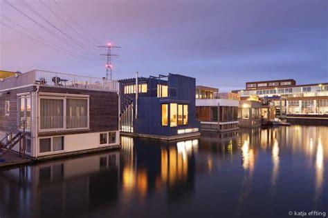 How To Level Concrete Patio Floating House Ijburg Amsterdam Property E Architect